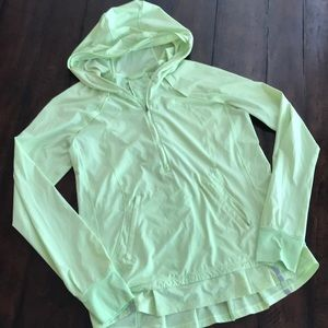 Lululemon windbreaker quarter zip jacket